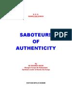 Saboteurs Of Authenticity