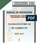 Manual Instruções - R 20 - 2007 - Rev. 2