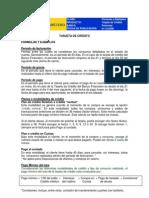 formulas de ejemplos de tarjeta de credito empresarial