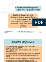 CRM - Lesson 04 - Types of Customers and Customer Value
