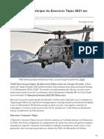 forcaaerea.com.br-USAF deverá participar do Exercício Tápio 2021 em Campo Grande