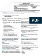 SEM RESPOSTAS - LÍNGUA PORTUGUESA- 2ª QUINZENA DE AGOSTO - 8M01