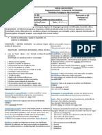 SEM RESPOSTAS - LÍNGUA PORTUGUESA- 2ª QUINZENA DE AGOSTO - 9M01
