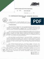 Resolucion Ejecutiva Regional n 133-2021-Grj Gr