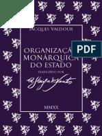 Organização Monárquica Do Estado