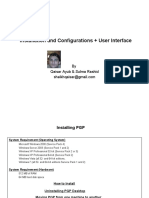 PGP Installation and Configurations + User Interface