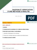 Formation Vérification de Méthode Reduit