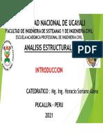 UNIDAD 1_1 Introduccion al Analisis Estructural