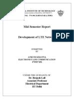 Development of LTE Network