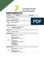 Bematech Comandos Fiscales