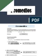 A2 - Promedios