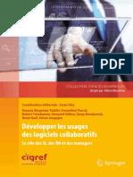 Développer les usages des logiciels collaboratifs, Le rôle des SI, des RH et des managers (2013) - [Springer] - Ewan Oiry