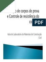 Concreto - Calculo de Resistencia - Ensaio