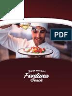 1.0 Restaurant Fontana Beach - Menú (1)