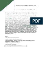 EXPLICATION DE TEXTE III Figaro (texte)