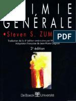Zumdahl Steven S. - Chimie Générale