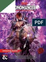 D&D 5E - Cronomancer