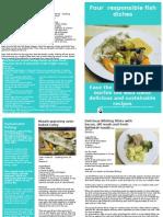 Falmouth Fish fight recipe leaflet 2011