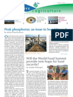 2010 IFA_Fertilizers and Agriculture newsletter (Peak Phosphorus)_IFA