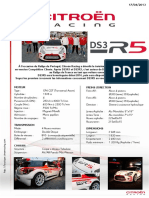 DS3 R5 Caractéristiques Techniques