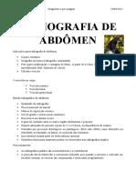 8ª Aula Radiografia de Abdômen