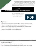 Aula 05 - Transformada de Fourier de Tempo Discreto