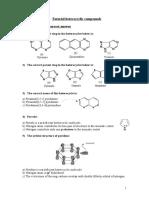 Tutorial heterocyclic compounds