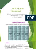 Unidad 4 Grupos Funcionales