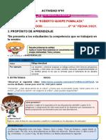6° GRADO - ACTIVIDAD DEL DIA 03 DE SETIEMBRE...