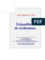 Echantillons de civilisation. R. Benedict