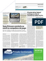 Acens Cloud hosting en El Economista (2-abril-2011).