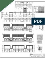 inicial pabellon 3-Planta y elevacion