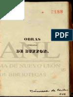Georges-Louis Leclerc de Buffon Obras Completas