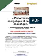 Invitation Performance Energetique Acoustique Bordeaux Synesthesie
