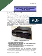 Bab VII Sistem Reproduksi Sinyal Audio Vidio