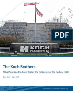 The Koch Brothers - What You Need to Know About the Financiers of the Radical Right