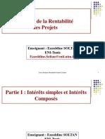 Intérêts simples et Intérêts composés