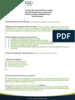 plan de trabajo primera version RPS