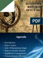 IndianEconomicPolicyReformsSince90s