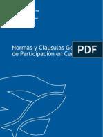 Normas y Clausulas Generales de Participacion
