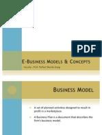 E-Business Models