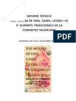 informe Mostra 2010