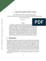 Böögg Bang drives global climate change