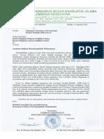 102 Surat DUkungan Kampanye Campak Rubella
