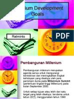 Presentasi MDG