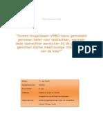 Praktijkonderzoek Tim van Doorn 430016 CV2