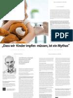 Dr Rabe Steffen - dass wir Kinder impfen müssen, ist ein Mythos