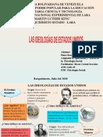 LAS IDEOLOGÍAS DE ESTADOS UNIDOS