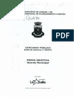 2015 - Canoas - Guarda Municipal
