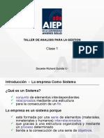 PPT Clase 1 - Teoria de Sistemas